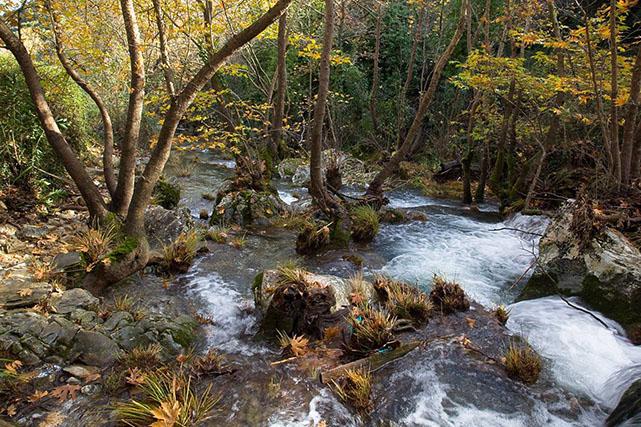 , The Polylimnio Waterfalls in Messinia, www.suitesartemis.gr